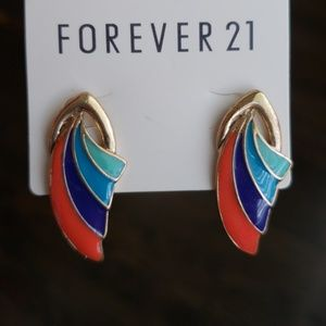 Jewelry - NWT- Forever 21 multicolored earrings